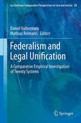 Cover of Federalism and Legal Unification: A Comparative Empirical Investigation of Twenty Systems