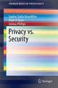 Cover of Privacy vs. Security