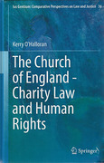 Cover of The Church of England: Charity Law and Human Rights