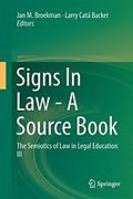 Cover of Signs in Law - A Source Book: The Semiotics of Law in Legal Education III