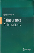 Cover of Reinsurance Arbitrations