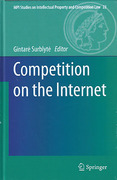 Cover of Competition on the Internet