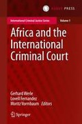 Cover of Africa and the International Criminal Court