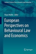 Cover of European Perspectives on Behavioural Law and Economics