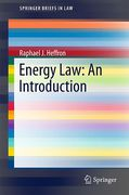 Cover of Energy Law: An Introduction