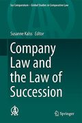 Cover of Company Law and the Law of Succession