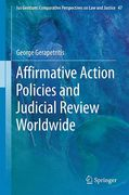Cover of Affirmative Action Policies and Judicial Review Worldwide