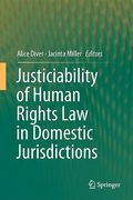 Cover of Justiciability of Human Rights Law in Domestic Jurisdictions