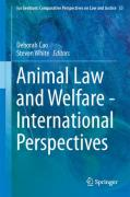 Cover of Animal Law and Welfare: International Perspectives