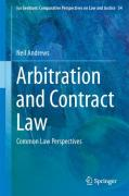 Cover of Arbitration and Contract Law: Common Law Perspectives