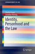 Cover of Identity, Personhood and the Law