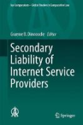 Cover of Secondary Liability of Internet Service Providers