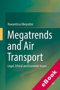 Cover of Megatrends and Air Transport: Legal, Ethical and Economic Issues (eBook)