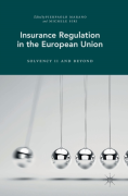 Cover of Insurance Regulation in the European Union: Solvency II and Beyond