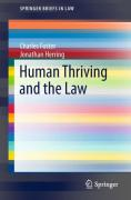 Cover of Human Thriving and the Law