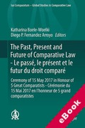 Cover of The Past, Present and Future of Comparative Law - Le passé, le présent et le futur du droit comparé (eBook)