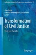 Cover of Transformation of Civil Justice: Unity and Diversity