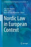 Cover of Nordic Law in European Context