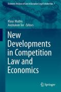 Cover of New Developments in Competition Law and Economics