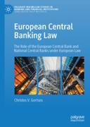 Cover of European Central Banking Law: The Role of the European Central Bank and National Central Banks under European Law