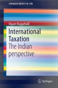 Cover of International Taxation: The Indian Perspective