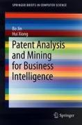 Cover of Patent Analysis and Mining for Business Intelligence