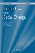 Cover of Crime, Law and Social Change: An Interdisciplinary Journal - Print + Basic Online