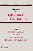 Cover of European Journal of Law and Economics: Print + Basic Online