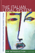 Cover of The Italian Legal System: An Introduction