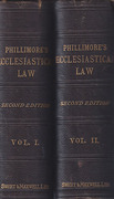 Cover of Phillimore's Ecclesiastical Law of the Church of England