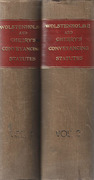 Cover of Wolstenholme & Cherry's Conveyancing Statutes 12th ed Volumes 1 & 2