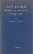 Cover of Law Reform (Frustrated Contracts) Act, 1943