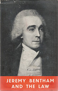 Cover of Jeremy Bentham and the Law: A Symposium