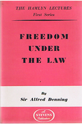 Cover of The Hamlyn Lectures: Freedom Under the Law