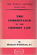 Cover of The Hamlyn Lectures: The Inheritance of the Common Law
