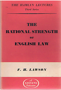 Cover of The Hamlyn Lectures: The Rational Strength of English Law