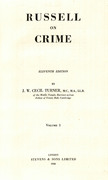 Cover of Russell on Crime