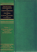 Cover of Prideaux's Forms and Precedents in Conveyancing 25th ed: Volumes 1,2 & 3