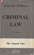Cover of Criminal Law: The General Part 2nd ed