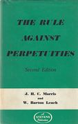 Cover of The Rule Against Perpetuities