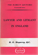 Cover of The Hamlyn Lectures: Lawyer and Litigant in England