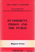Cover of The Hamlyn Lectures: Punishment, Prison and the Public