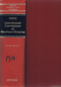 Cover of International Conventions of Merchant Shipping