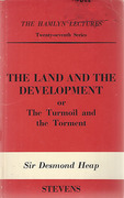 Cover of The Hamlyn Lectures: The Land and the Development or The Turmoil and the Torment