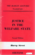 Cover of The Hamlyn Lectures: Justice in the Welfare State