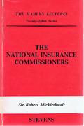 Cover of The Hamlyn Lectures: The National Insurance Commissioners