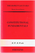 Cover of The Hamlyn Lectures: Constitutional Fundamentals