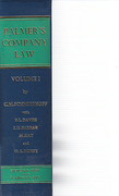 Cover of Palmer's Company Law 23rd ed: Volume 1 - The Treatise