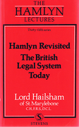 Cover of The Hamlyn Lectures: Hamlyn Revisited. The British Legal System Today