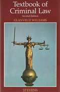 Cover of Textbook of Criminal Law 2nd ed